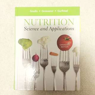 Nutrition Science And Applications Textbook