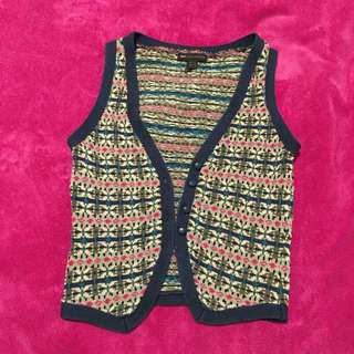 Mango Knit Vest (Approx size 8)
