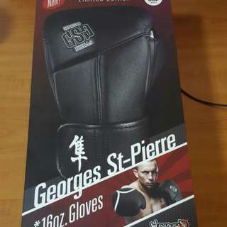 Georges St - Pierre 16oz Gloves