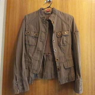 Brown Jackit Size Uk 8, US 5