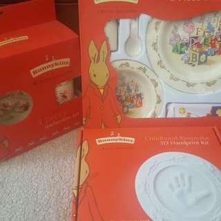 3 box set Royal Doulton Bunnykins set