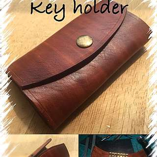 Handcrafted Leather Key Holder