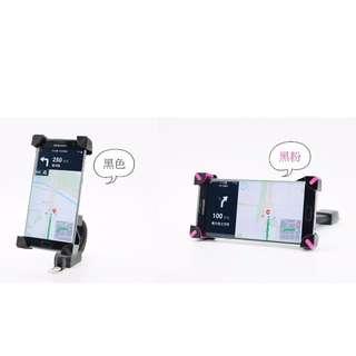 ♥Pinkの寶舖♥新款鷹爪摩托車後視鏡手機支架踏板電動摩托車手機導航架 通用型 特價$179