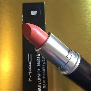 Pending Authentic Mac Lipstick - Velvet Teddy