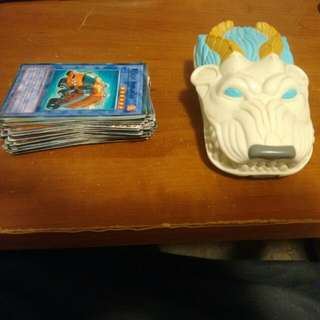 56 Yugioh Cards, Card Container, Can Be Paid Seperatly, Message Me For More Details