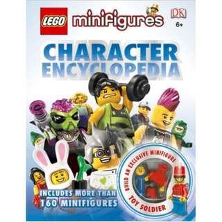 Lego Minifigures: Character Encyclopedia - Dorling Kindersley - Hardcover - NEW