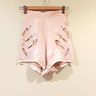 *Alice McCall* Sphene Lace Pink Shorts Size 6