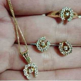 🍀Horseshoe Set Diamond Setting