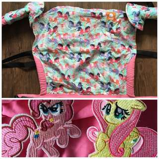 Toddler Tula Carousel With MLP accessories