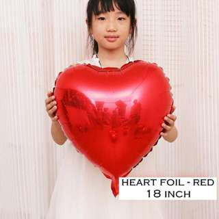 Balloon Foil Heart