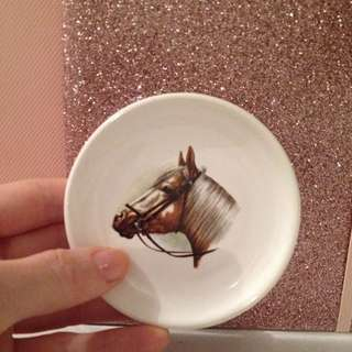 Gorgeous Little Horse Trinket Tray