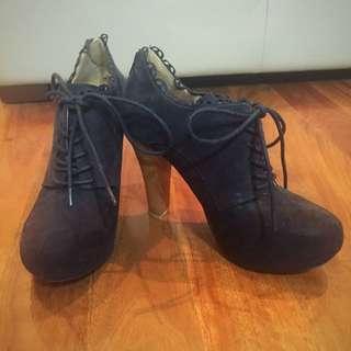 Black Boots Heels