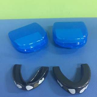 "BNIP Fighter Fitness ""Old Fighter"" Mouth Guard ( Black )"