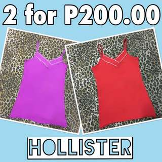 Hollister Spaghetti Tops (Repriced)