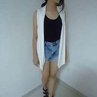 BOSSINI ORIGINAL WHITE VEST