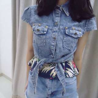 DENIM OUTER PIECE