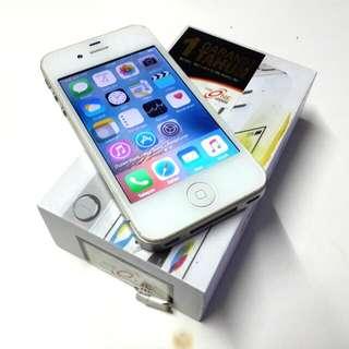 Apple iPhone 4S White 16 GB Fullset