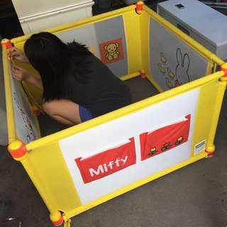miffy playpen from Japan