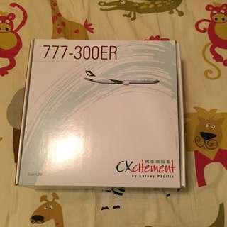絕版官方版國泰777-300ER,1/200模型