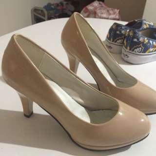Nude Colour High Heels
