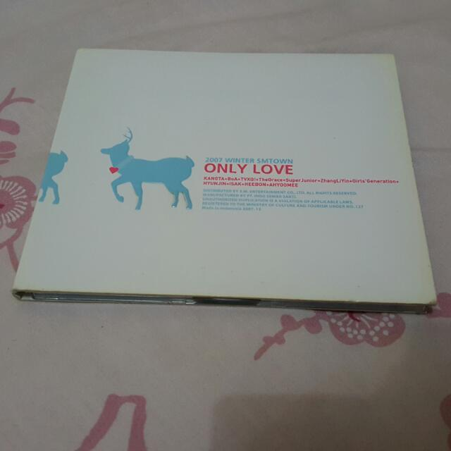 2007 WINTER SMTOWN ONLY LOVE
