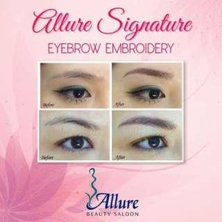 Allure Signature Eyebrow Embroidery