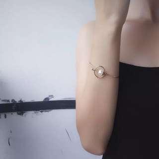 簡約珍珠手環B02