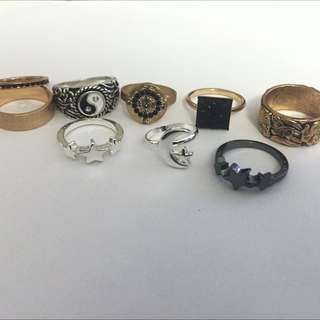 Mix Of Midi And Regular Rings