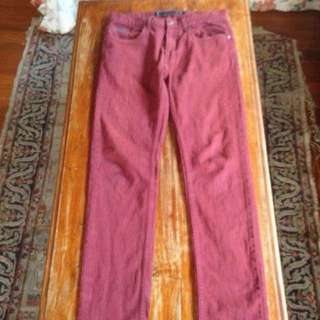 Freshjive Rust Coloured Jeans