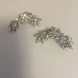 Silver Full Ear Cuff And Earing - Aldo