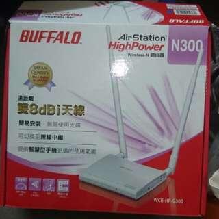 無線網路路由器 BUFFALO WCR-HP-G300