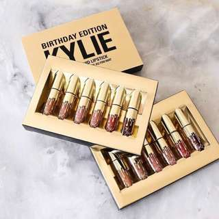 Kylie Mini Mattes Birthday Collection