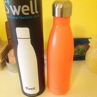 Orange Swell Water Bottle