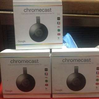 Chromecast Version 2 Brandnew And Sealed