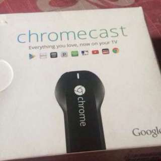 Chromecast Ver 1 Brandnew & Sealed