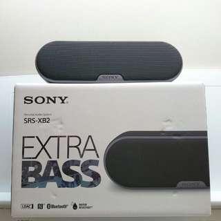 Sony SRS-XB2 EXTRA BASS 防水藍牙喇叭 (black)