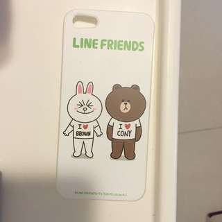 Line Brown & Conly iPhone 5 Case 電話殻