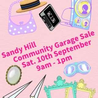 Sandy Hill Garage Sale