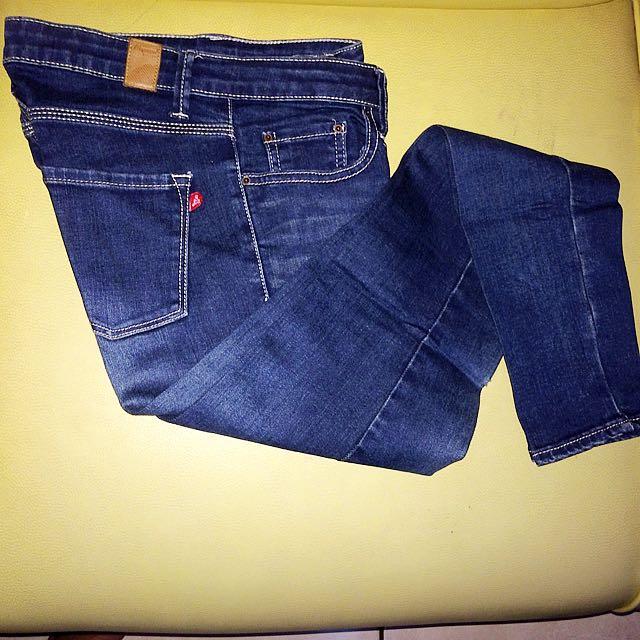 Reprice! Navy Jeans