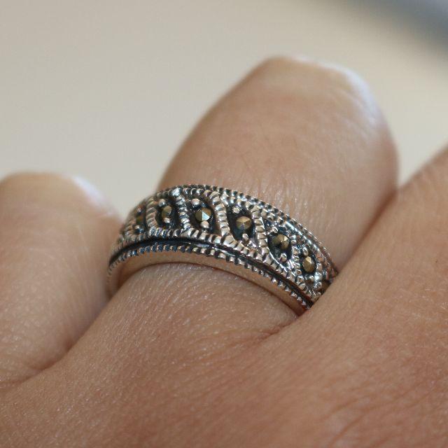 Genuine 925 Silver Ring - 2004