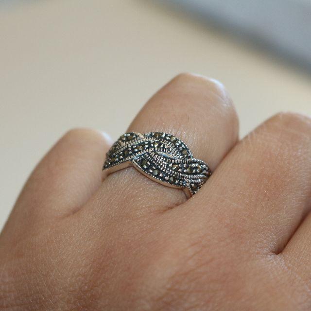 Genuine 925 Silver Ring - 2007