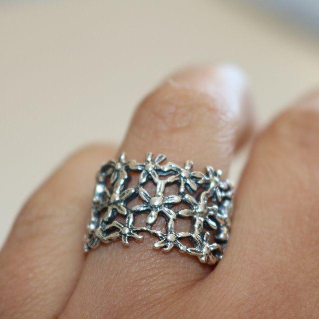 Genuine 950 Silver Ring - 2008