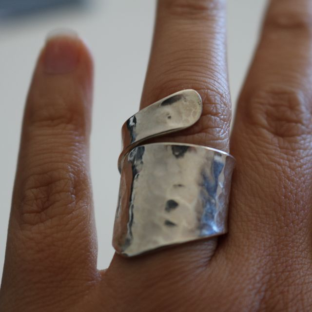 950 Genuine Silver Ring Adjustable - 2010