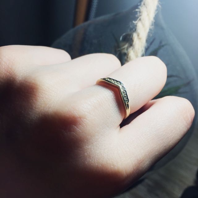 9ct Gold Diamond Ring from Prouds The Jewellers