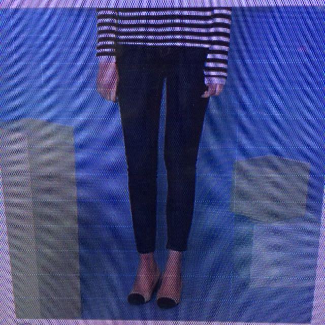 正韓空運-顯瘦修身窄管牛仔褲