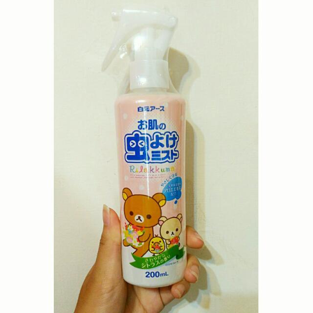 日本🇯🇵 拉拉熊 Rilakkuma防蚊液 200ml