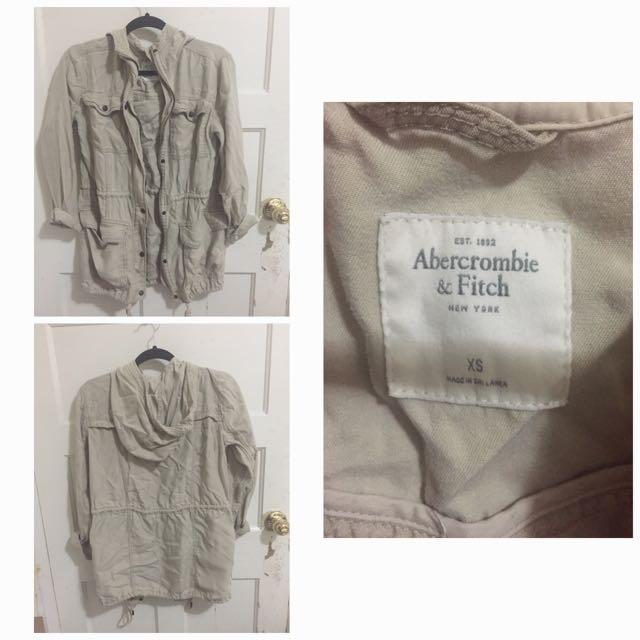 Abercrombie Tan Jacket