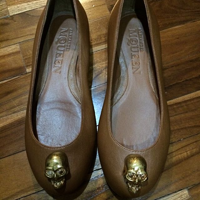 Alexander Mcqueen Flat Shoes