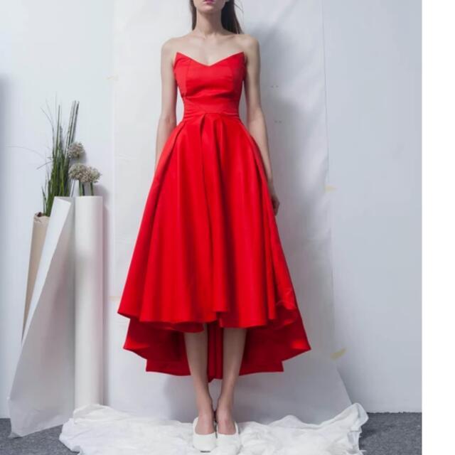 Alisa Royal Blue Sleevless Tube Flare Gown