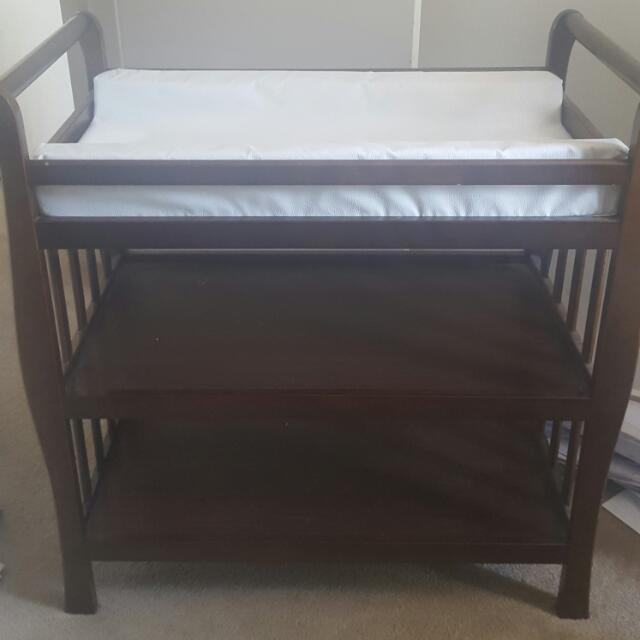 Baby Change Table with Change Mat